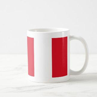Peru-Flagge Kaffeetasse