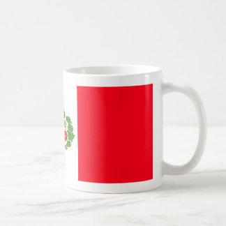 Peru-Flaggen-Kaffee-Tasse Kaffeetasse