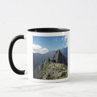 Peru, Machu Picchu, die alte verlorene Stadt von 2 Tasse
