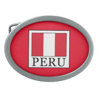 Peru Ovale Gürtelschnallen