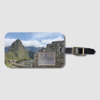 Peru-Reise Destonation Gepäckanhänger