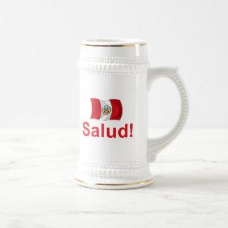 Peru Salud! Bierglas