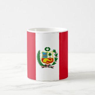 Peru-Staatsflagge Kaffeetasse