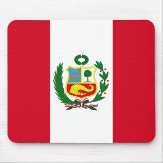 Peru-Staatsflagge Mauspad
