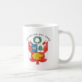 Peru-Wappen Kaffeetasse