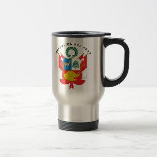 Peru-Wappen Reisebecher