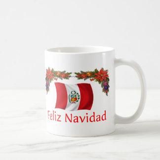 Peru-Weihnachten Kaffeetasse