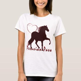 Peruanische Paso Pferdeherzen T-Shirt