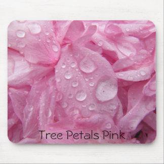 Pétales Mousepad rose d'arbre Tapis De Souris