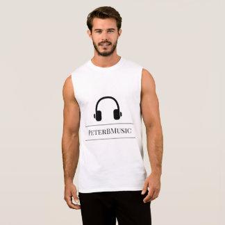 PeterBMusic Logo-Spitzen Ärmelloses Shirt
