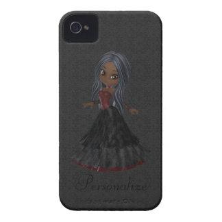Petit audacieux mignon de Blackberry de fille de Coque Case-Mate iPhone 4