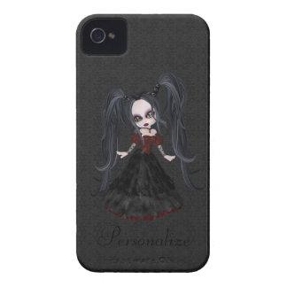 Petit audacieux mignon de Blackberry de fille de Coque iPhone 4 Case-Mate