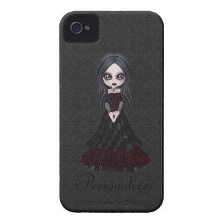 Petit audacieux mignon de Blackberry de fille de Coques Case-Mate iPhone 4