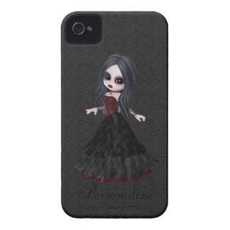 Petit audacieux mignon de Blackberry de fille de Étuis iPhone 4