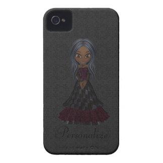 Petit audacieux mignon de Blackberry de fille de Coques iPhone 4 Case-Mate