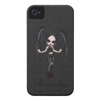 Petit audacieux mignon de Blackberry de fille de Étui iPhone 4