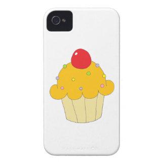 Petit gâteau orange Blackberry audacieux Coque iPhone 4