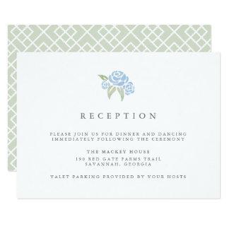 Petite Blumenstrauß-Empfangs-Karte  Cornflower 8,9 X 12,7 Cm Einladungskarte