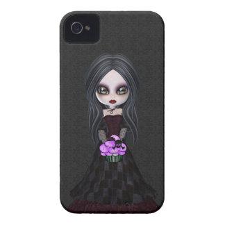 Petite fille mignonne et déplaisante Blackberry de Étuis iPhone 4