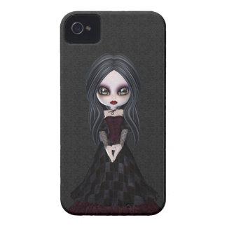 Petite fille mignonne et déplaisante Blackberry de Coque iPhone 4 Case-Mate