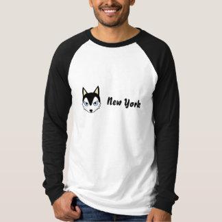 Petory New York durch Schlittenhund T-Shirt