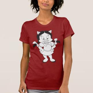 Petunie-Aufstellung T-Shirt