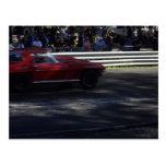 Peu de Corvette rouge Cartes Postales