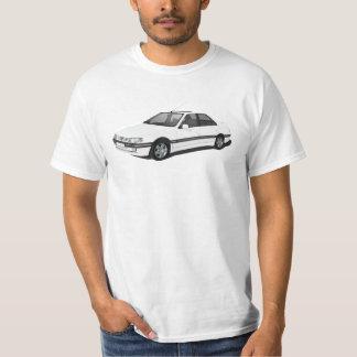Peugeot 405 - Weiß T-Shirt