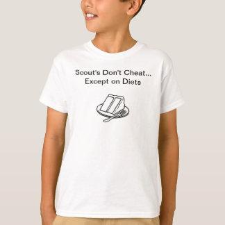 Pfadfinder betrügen nicht T-Shirt