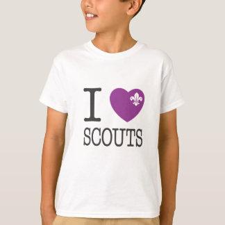 Pfadfinder des Herzens I/der Liebe T-Shirt