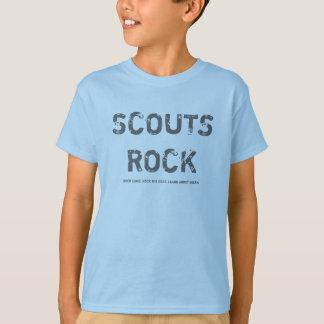 Pfadfinder-Felsen T-Shirt