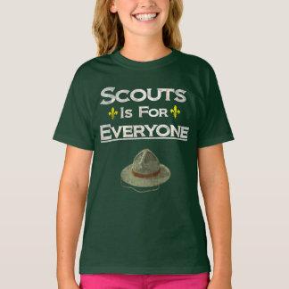 Pfadfinder ist für jeder Gleichberechtigung der T-Shirt
