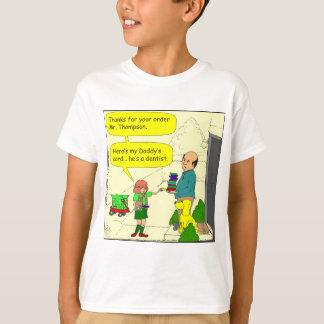 Pfadfinder-Zahnarzt-Cartoon des Mädchens 428 T-Shirt