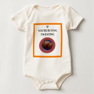 Pfannkuchen Baby Strampler