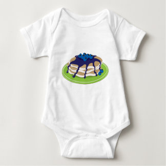 Pfannkuchen-Blaubeere Baby Strampler