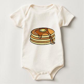 Pfannkuchen - der Bodysuit des Babys Baby Strampler