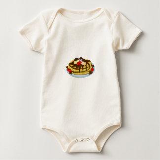 Pfannkuchen - Faschingsdienstag Baby Strampler