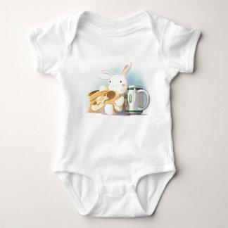 Pfannkuchen-Häschen Baby Strampler