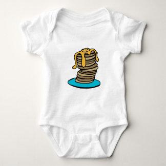 Pfannkuchen-Stapel Baby Strampler