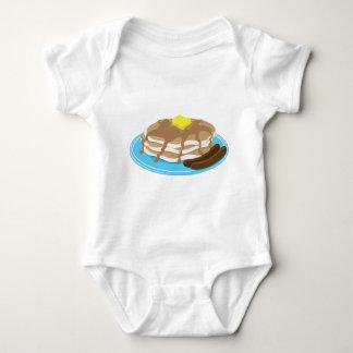 Pfannkuchen-Wurst Baby Strampler