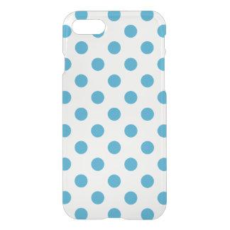 Pfau-Blau-Tupfen-Kreise iPhone 8/7 Hülle