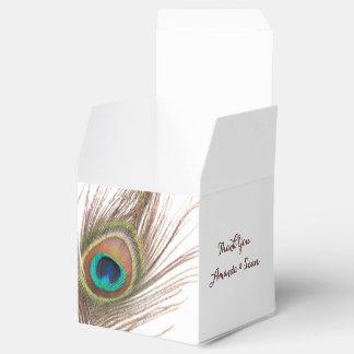 Pfau-Feder danken Ihnen, Kästen zu bevorzugen Geschenkkartons