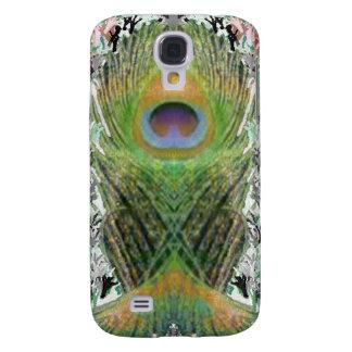Pfau-Feder - Fisch geformte Digital Galaxy S4 Hülle
