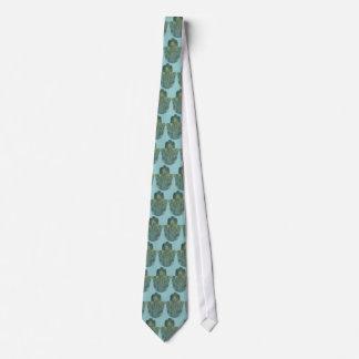 Pfau-Feder Hamsa Individuelle Krawatten