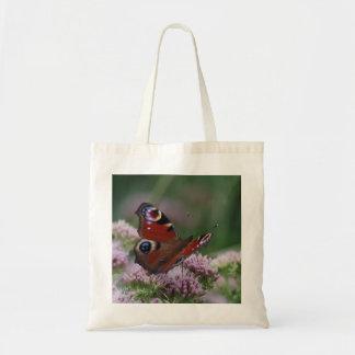 Pfau-Schmetterlings-Tasche Tragetasche
