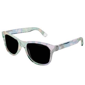Pfau-Sonnenbrille Sonnenbrille