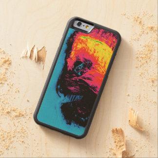 Pfeffer und Plastik zum Schweigen gebracht Bumper iPhone 6 Hülle Ahorn