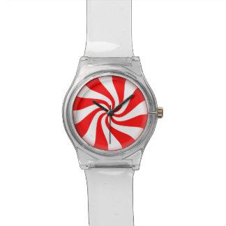 Pfefferminz-Süßigkeit Armbanduhr