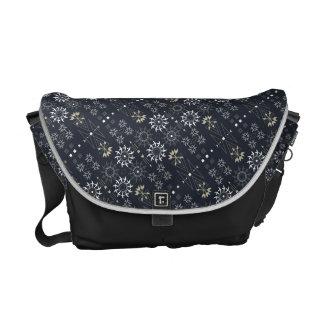 Pfeil boho Stammes- Schwarz-weißes Muster DIY Kurier Tasche