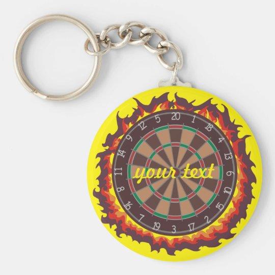Pfeil-Spiel personalisiert Schlüsselanhänger